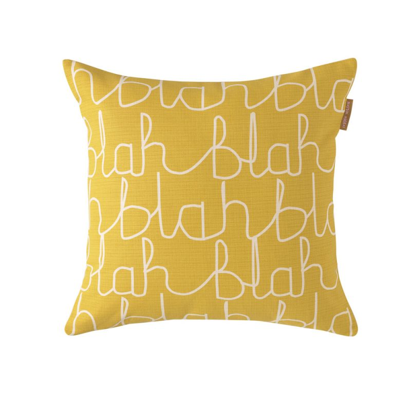 Donna Wilson - Blah Blah Cotton Cushion