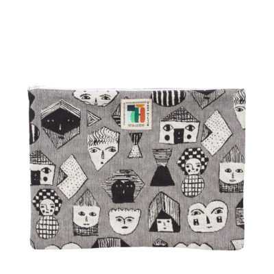 Large Allsorts Woven Pouch - Donna Wilson