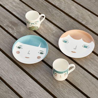 Pixie + Betty Ceramics by Donna Wilson