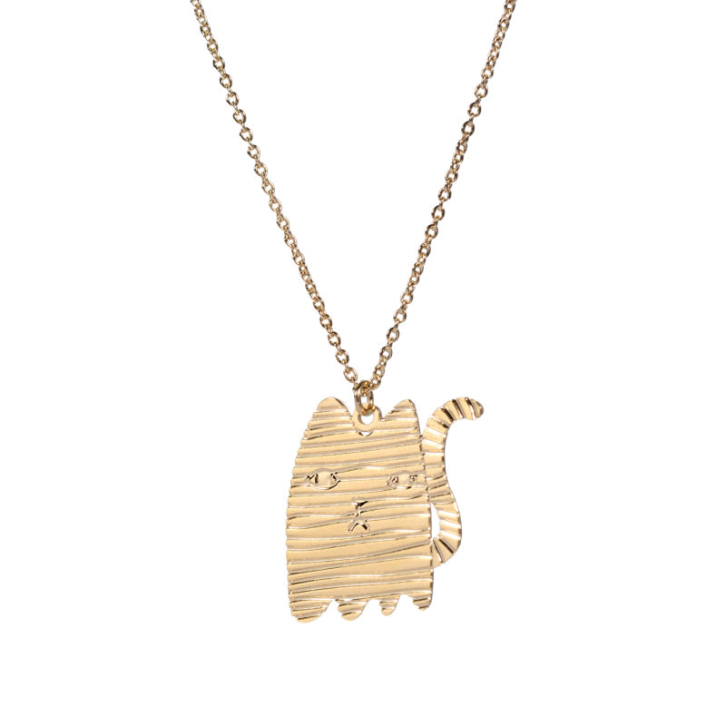 Mono Cat Necklace - TITLEE x DONNA WILSON