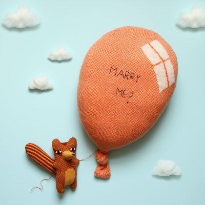 Donna Wilson - Balloon Cushion - Orange