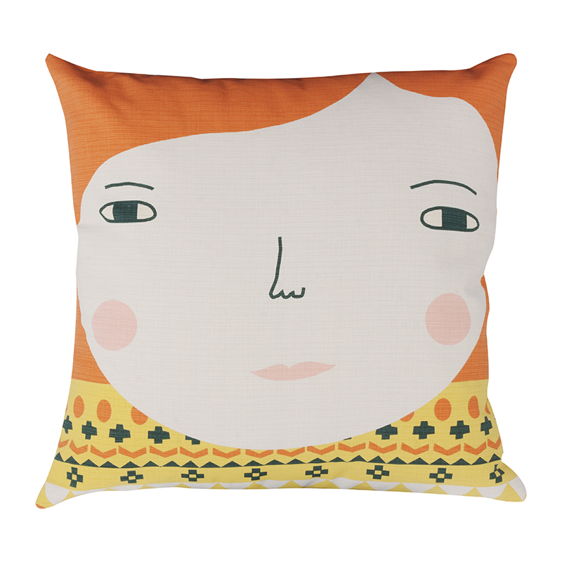 Donna Wilson Meg Cushion Cream Front