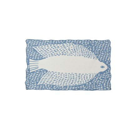 Bird Cotton Mini Blanket - Donna Wilson