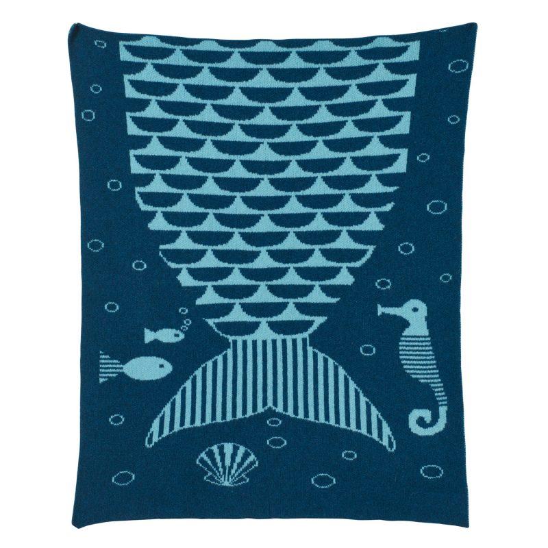 Mermaid Mini Blanket - Donna Wilson
