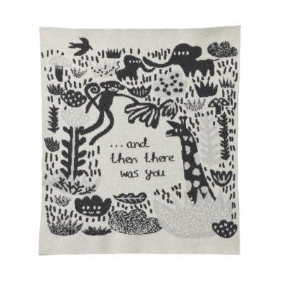 Mini Blanket - Menagerie Mini Blanket Ecru - Donna Wilson