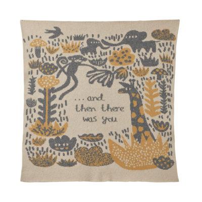 Mini Blanket - Menagerie Mini Blanket Oatmeal - Donna Wilson