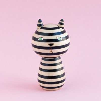 Mono Cat Kokeshi - Donna Wilson