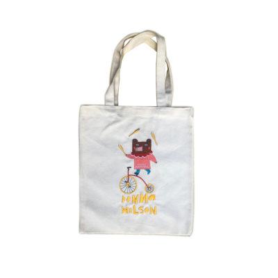 Mushroom Circus Bear Bag - Donna Wilson