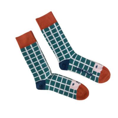 Socks - Happy Toes Socks - Donna Wilson
