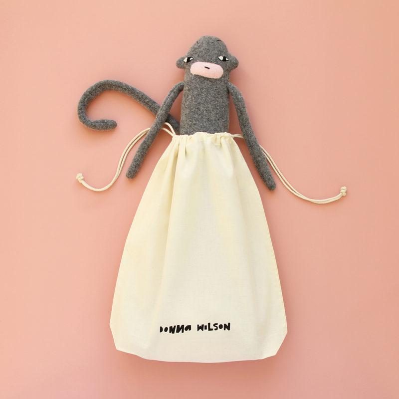 Cloth Drawstring Bag - Donna Wilson