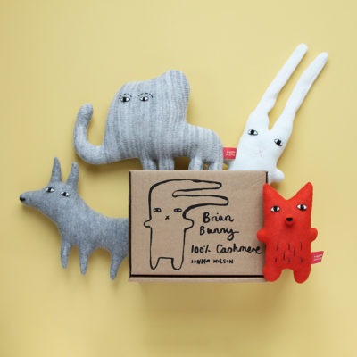 Screen-printed Gift Box - Donna Wilson