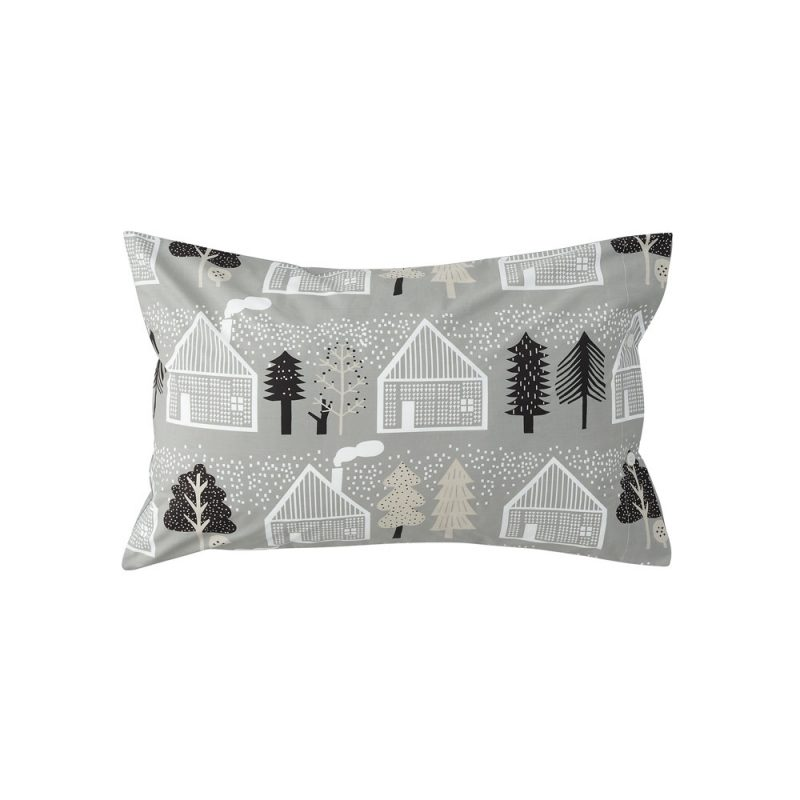 Donna Wilson - Log Cabin Bed Set - Pillowcase - Front