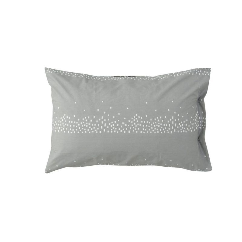 Donna Wilson - Log Cabin Bed Set - Pillowcase - Reverse