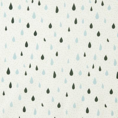Raindrops Lightweight Cotton Fabric - Donna Wilson