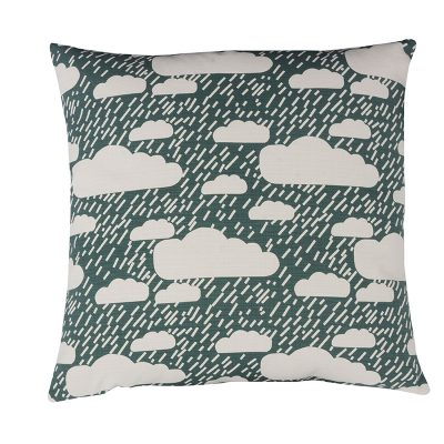 Donna Wilson Rainy Day Cushion Dark Blue