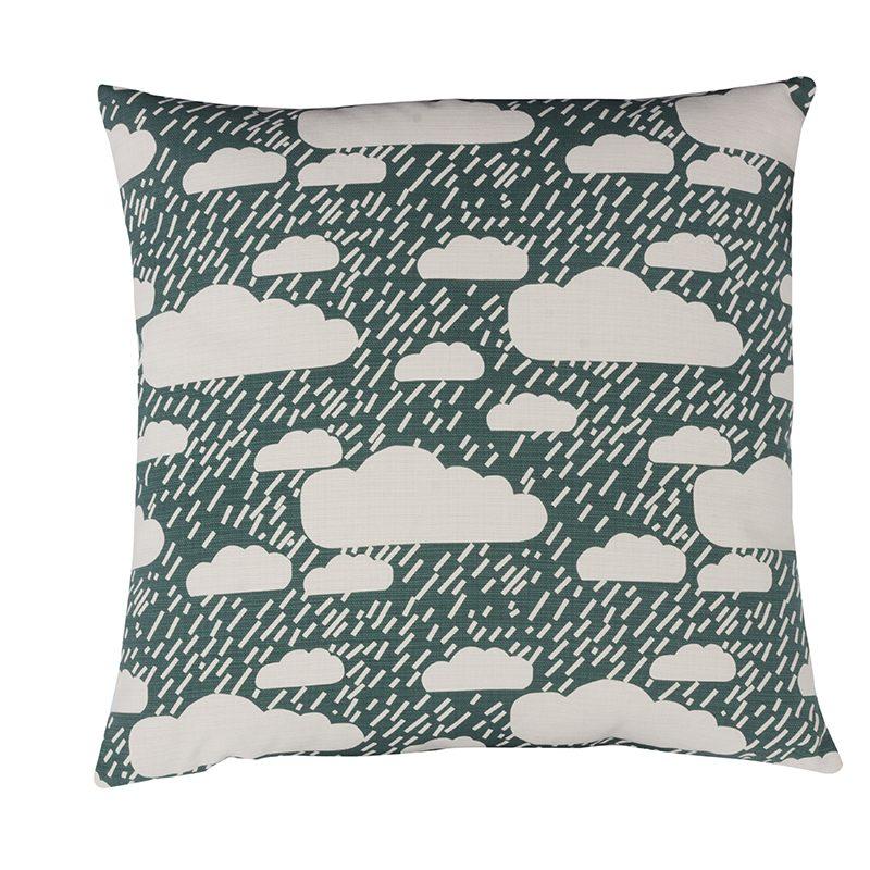 Donna Wilson Rainy Day Cushion Dark Blue