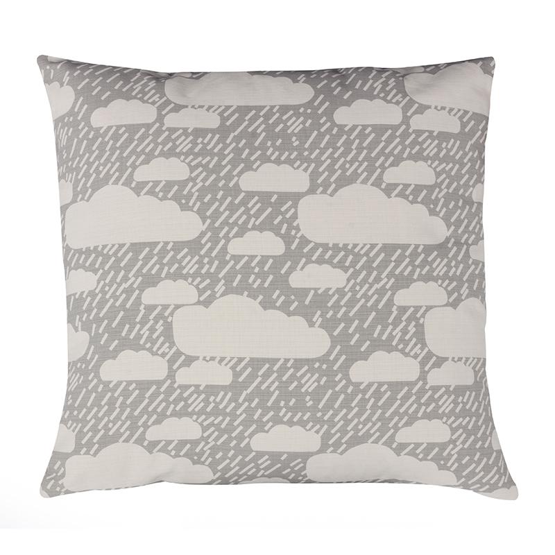 Donna Wilson Rainy Day Cushion Grey
