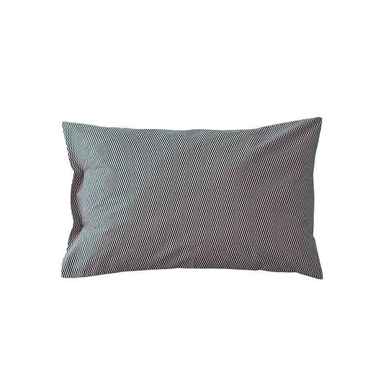 Donna Wilson - Rainy Day Bed Set - Dark Blue - Pillowcase - Reverse