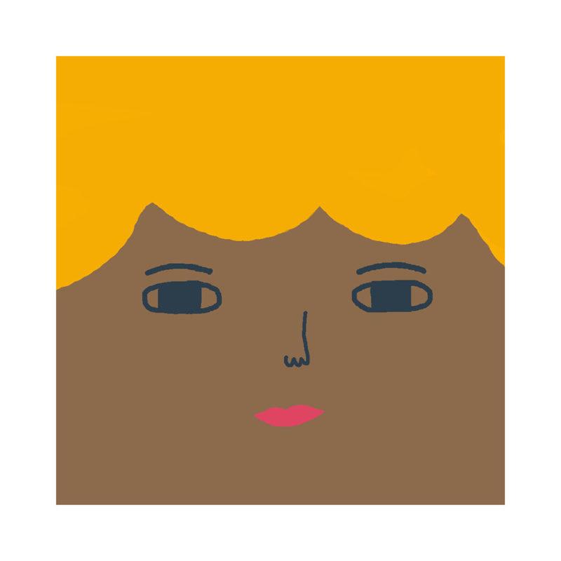 Robin Cushion - Mid Tone, Blonde Hair & Blue Eyes