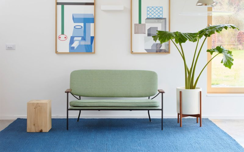 Purl Rug - Petrol by Donna Wilson for SCP