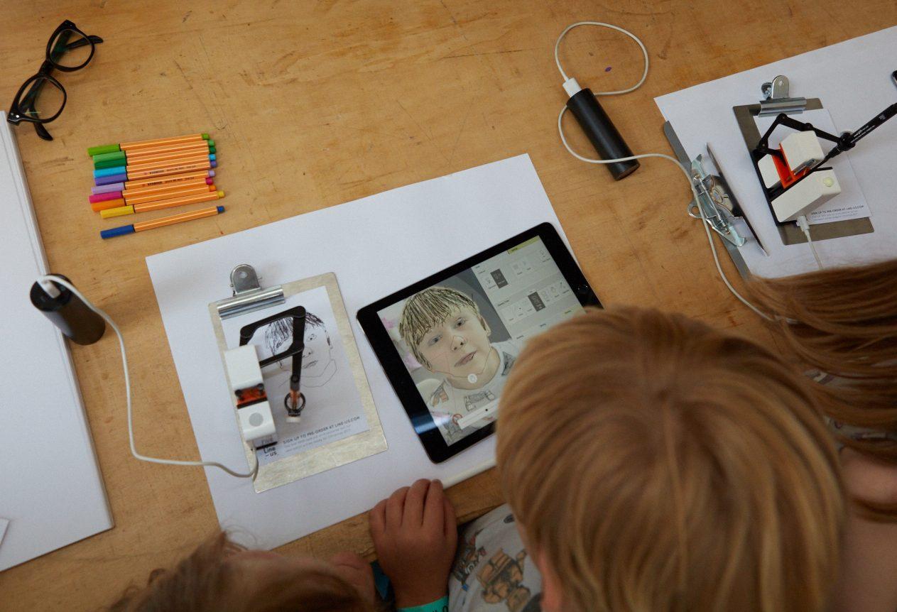 MYO Line Us Drawing Robot Donna Wilson
