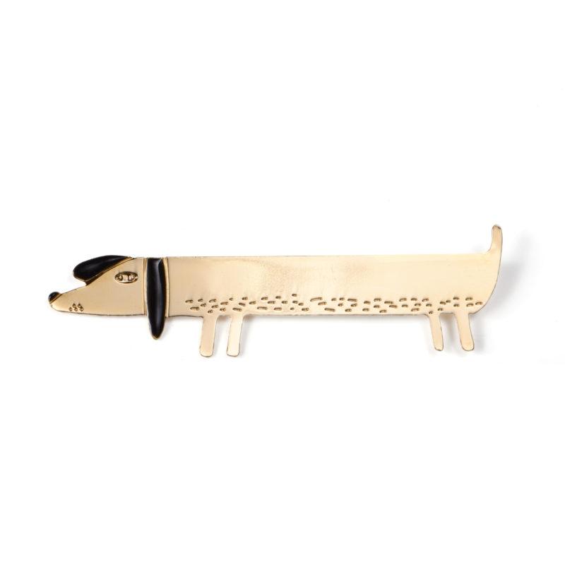 Sausage Dog Brooch - TITLEE x DONNA WILSON