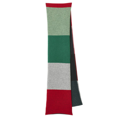 Colour Block Scarf - Forest - Donna Wilson
