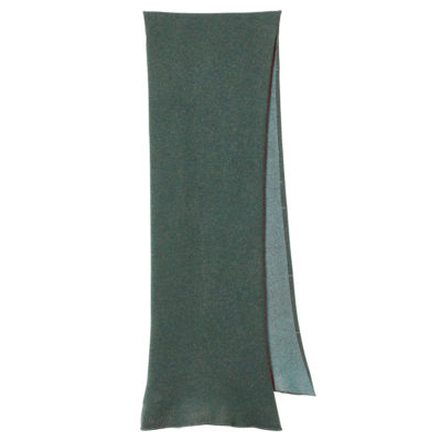 Two Tone Scarf - Green + Emerald - Donna Wilson