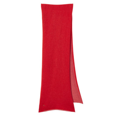 Two Tone Scarf - Red + Pink - Donna Wilson