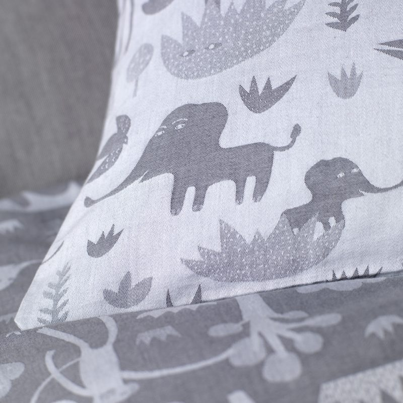 Donna Wilson Collaboration for Secret Linen Store, Menagerie Bed Linen, Detail, single duvet and pillowcase set £59