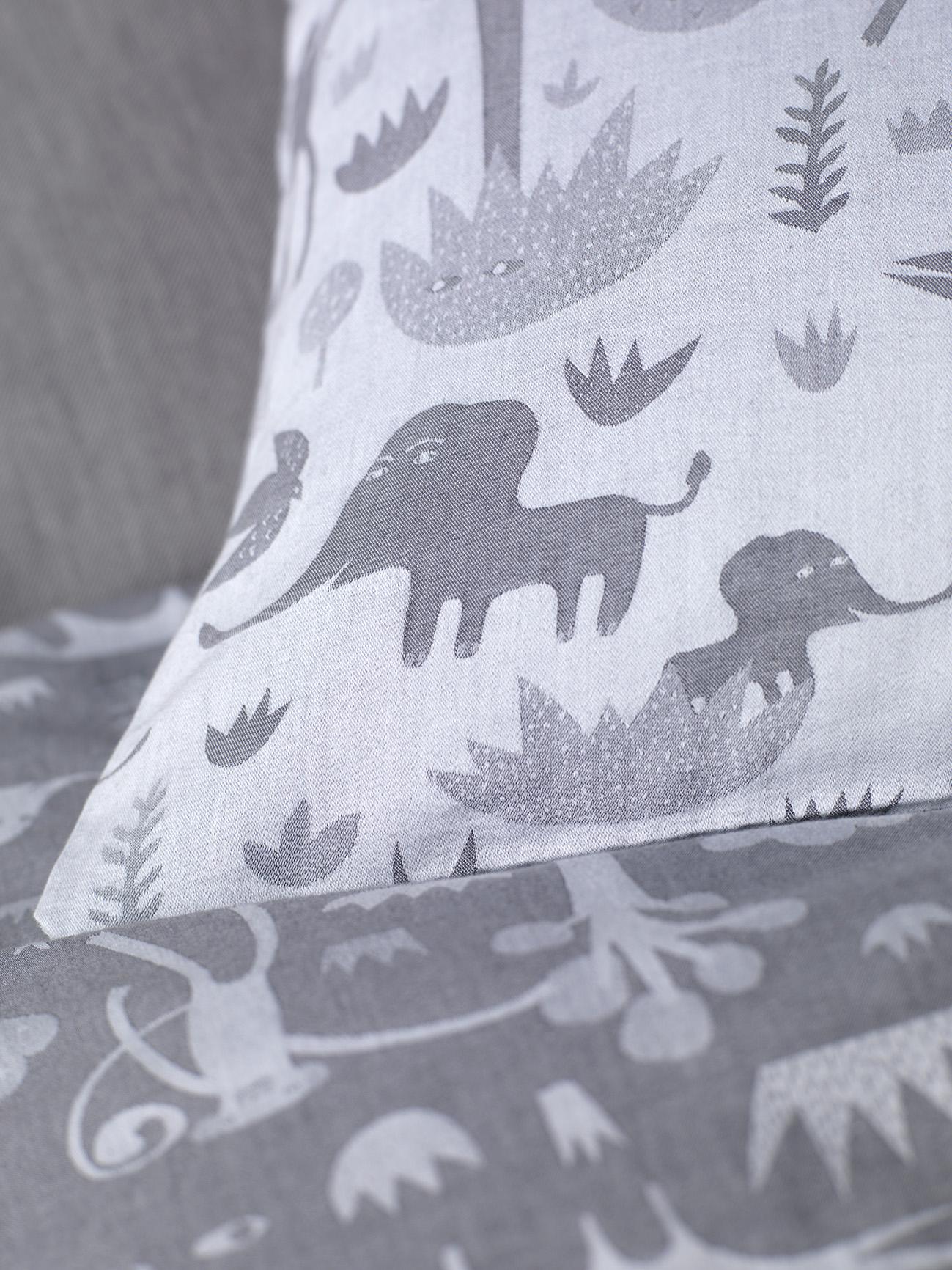 Donna Wilson Collaboration for Secret Linen Store, Menagerie Bed Linen, Detail, single duvet and pillowcase set £59