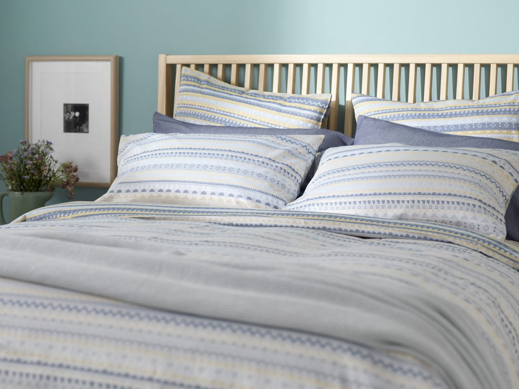 Donna Wilson Collaboration for Secret Linen Store, Scandi Bed Linen, Landscape, double duvet £49, pillowcase £15