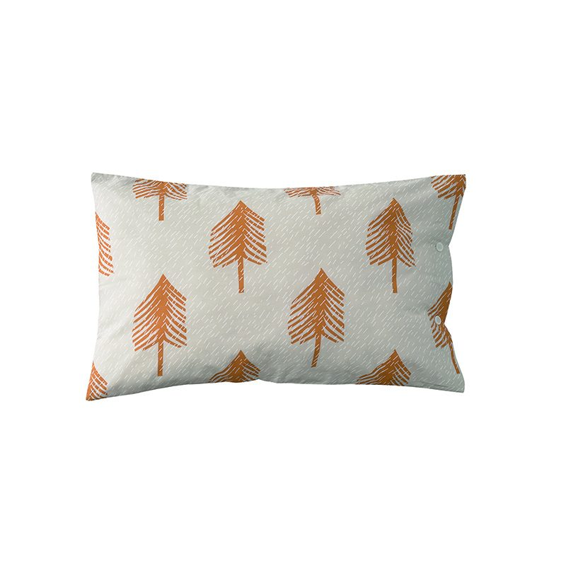 Donna Wilson - Single Tree Bed Set - Cream - Pillowcase - Front