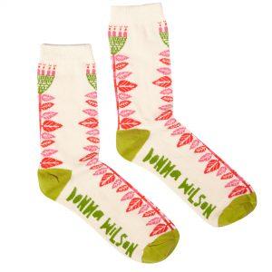 Donna Wilson Flower Socks