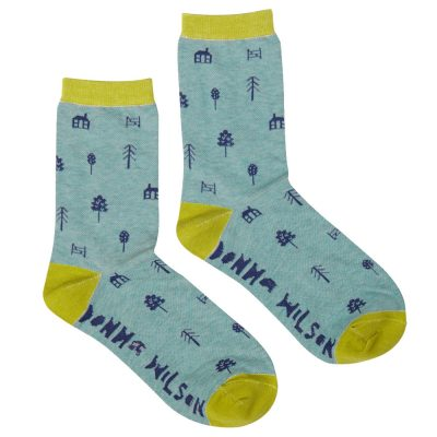 Donna Wilson - Women's Woodland House Socks