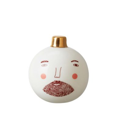 Stationery Bauble Beardy Man
