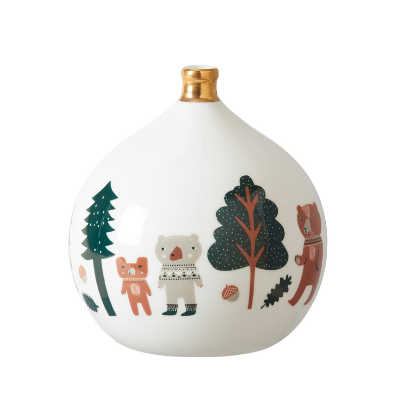 Stationery Bauble Bears Large