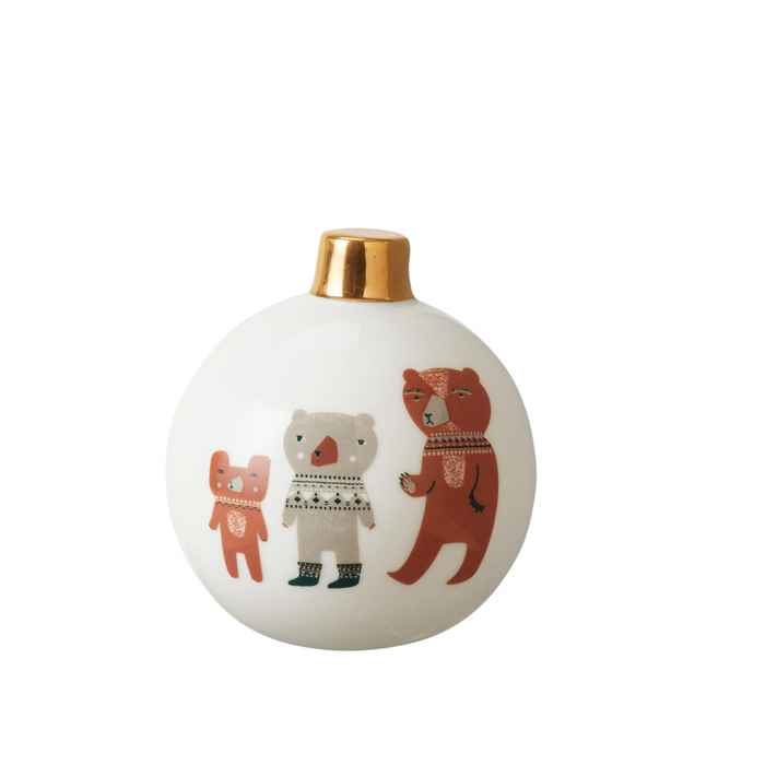Stationery Bauble Bears