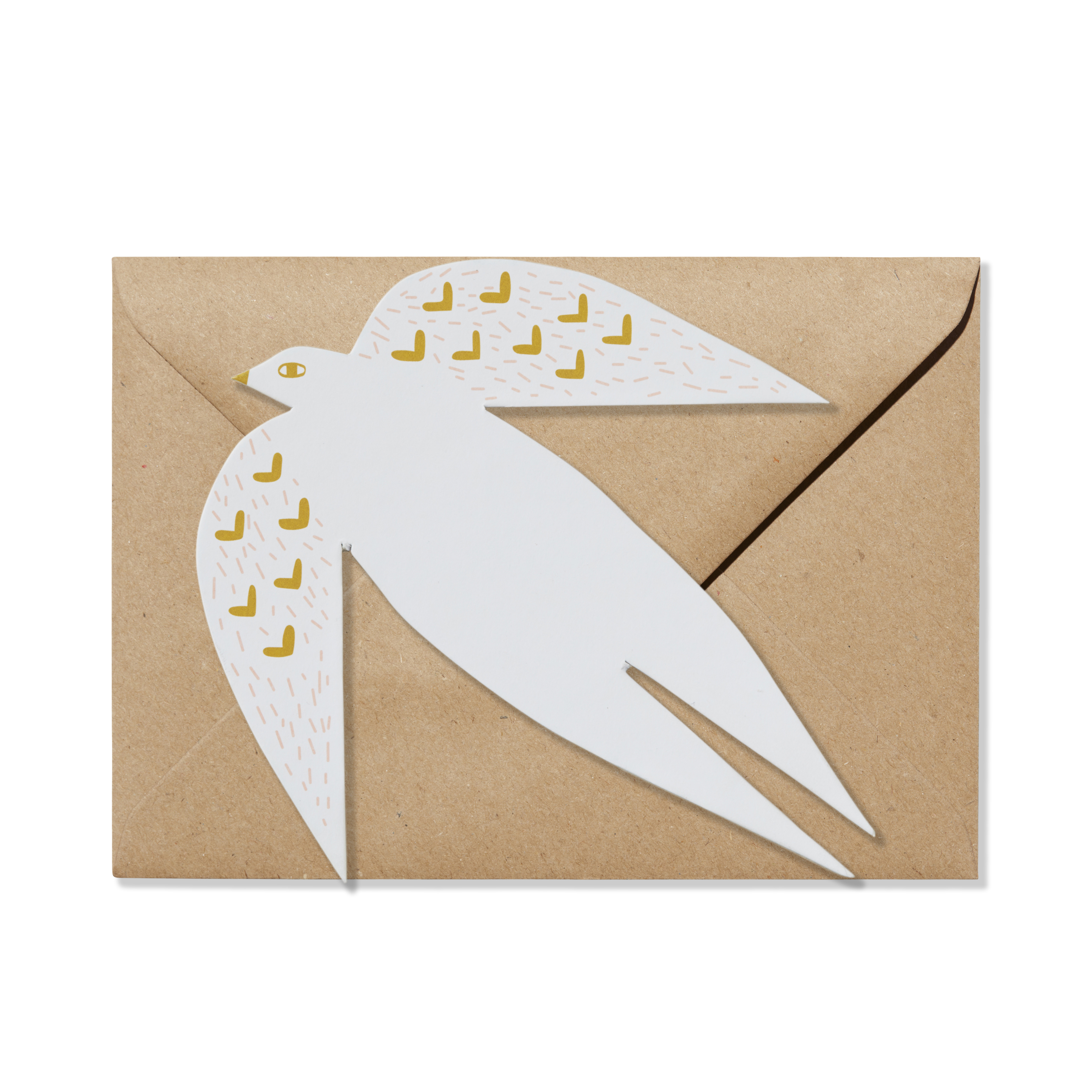 Greeting Card - Dove Card Envelope Donna Wilson