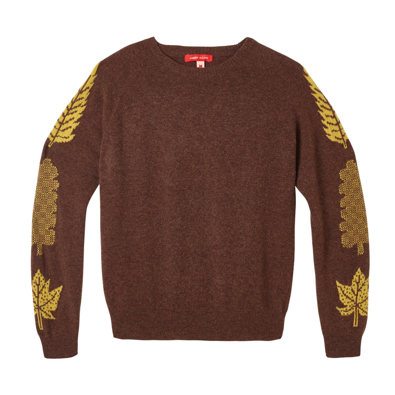 Donna Wilson - 3 Leaf Sweater - Brown