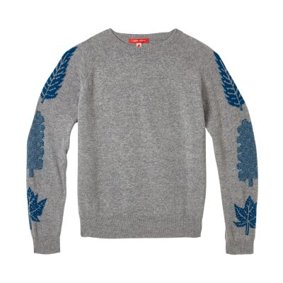 Donna Wilson - 3 Leaf Sweater - Grey
