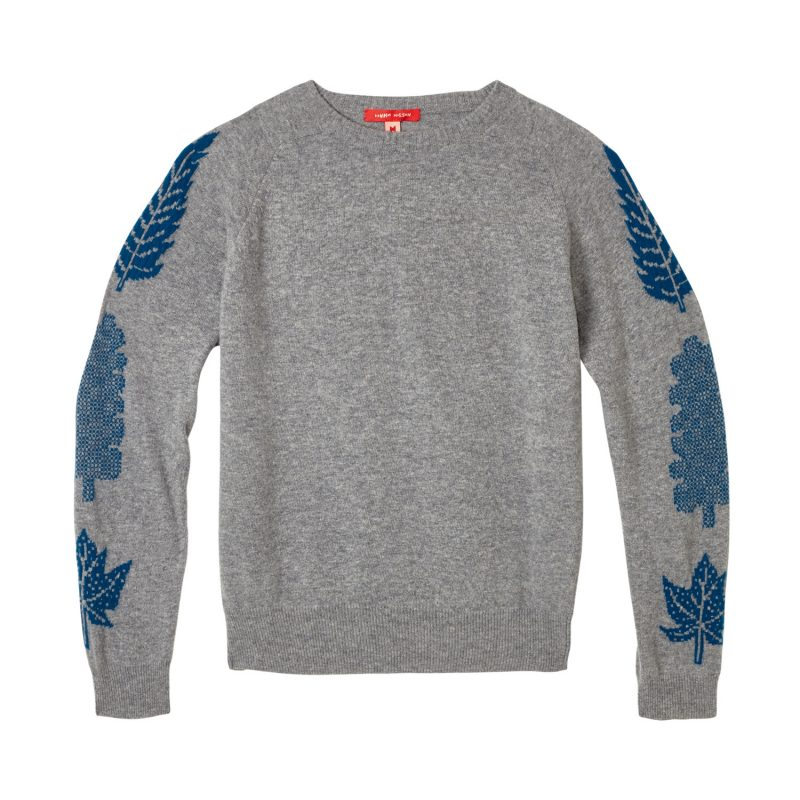 Donna Wilson - 3 Leaf Sweater - Grey