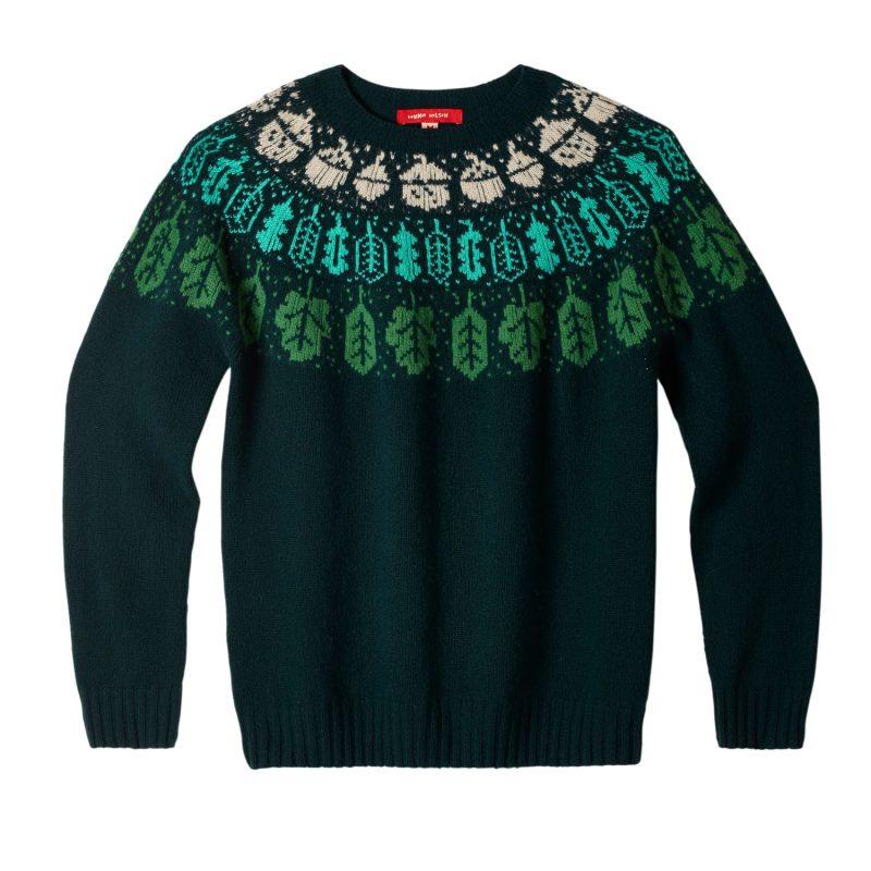 Donna Wilson - Acorn Oak Sweater - Green