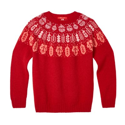 Donna Wilson - Acorn Oak Sweater - Red
