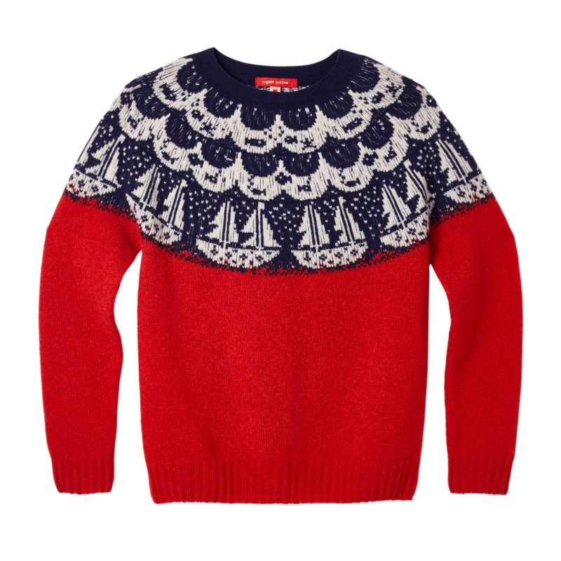 Donna Wilson - Boat Sweater - Red