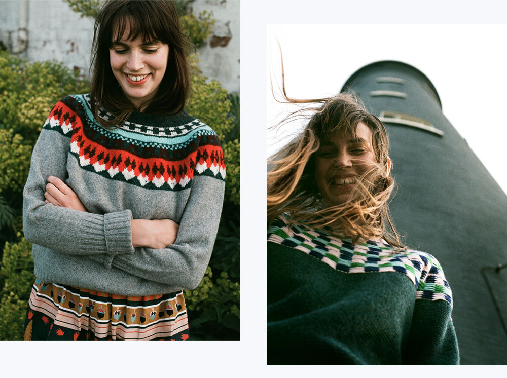 Helga & Isla Sweaters - Donna Wilson