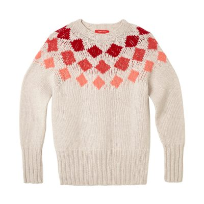 Donna Wilson - Harlequin Sweater - Red