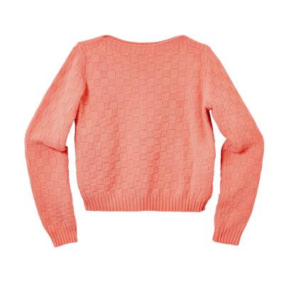 Basket Weave Sweater - Deep Madder - Donna Wilson