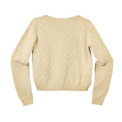 Basket Weave Sweater - Natural - Donna Wilson