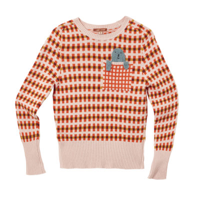 Highland Peep Sweater - Pink - Donna Wilson